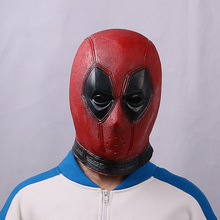 Marvel Deadpool Masks Halloween Cosplay Costume Props Superhero Movie Latex Mask Collectible Toys Party
