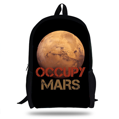 Occupy Mars Novelty Cotton T Shirt Personality Tee for Toddler Kids Boys Girls