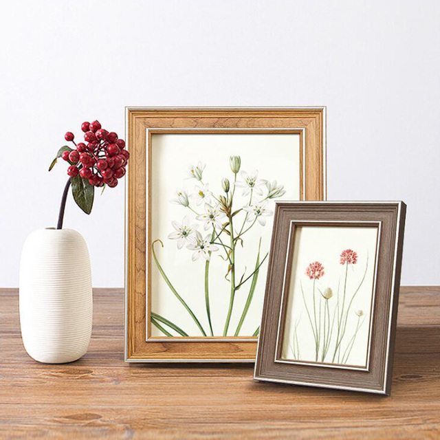 2018 New Classical Rectangle Photo Frame Picture Frames 5 6 7 8 10 ...