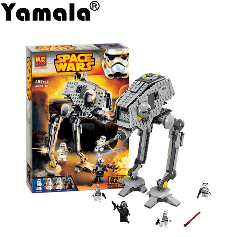 [Yamala]499pcs New Star Wars AT-DP Building Blocks Toys Gift Rebels Animated TV Series Compatible With Legoingly Starwars 2016 499pcs bela 10376 new star wars at dp building blocks toys gift rebels animated tv series compatible