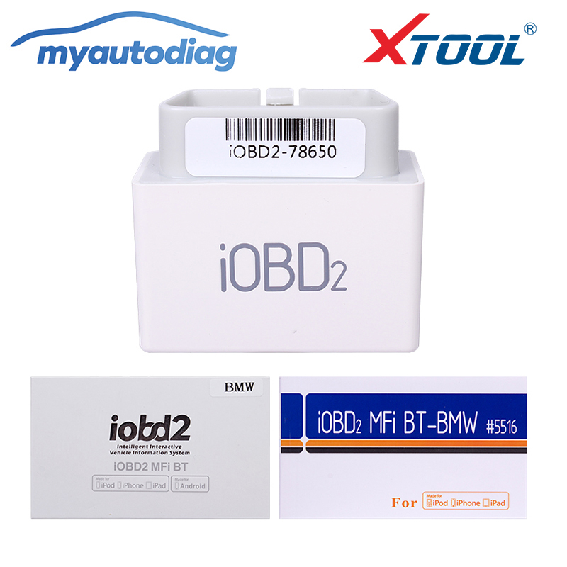 Promotion 2017 Professional XTOOL iOBD2 Scanner for BMW Diagnostic Tool for iPhone/iPad with Multi-Language and Bluetooth недорго, оригинальная цена