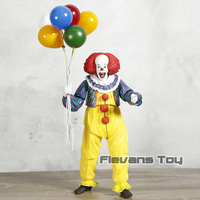 The Movie Stephen King's It Pennywise 1990 Ver. PVC Action Figure Toy Collectible Movable Model Birthday Gift