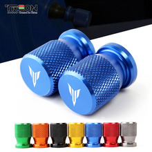 For YAMAHA MT03 MT07 MT09 MT10 CNC Aluminum Motorcycle Accessories Wheel Tire Valve Stem Caps Moto Airtight Dust Covers