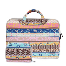 цены на Laptop Bag 15.6 inch Case Notebook Bag For Macbook Air Pro 15 Laptop Shoulder Bag Floral Portable for Xiaomi Notebook  в интернет-магазинах