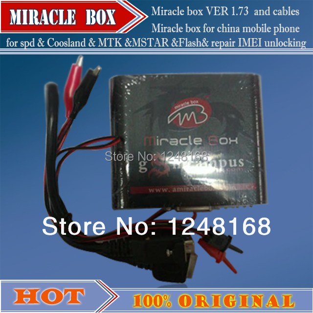 100% original The newest version Miracle Box ( new version 1.83 hot update ) For samsung  china mobile phone
