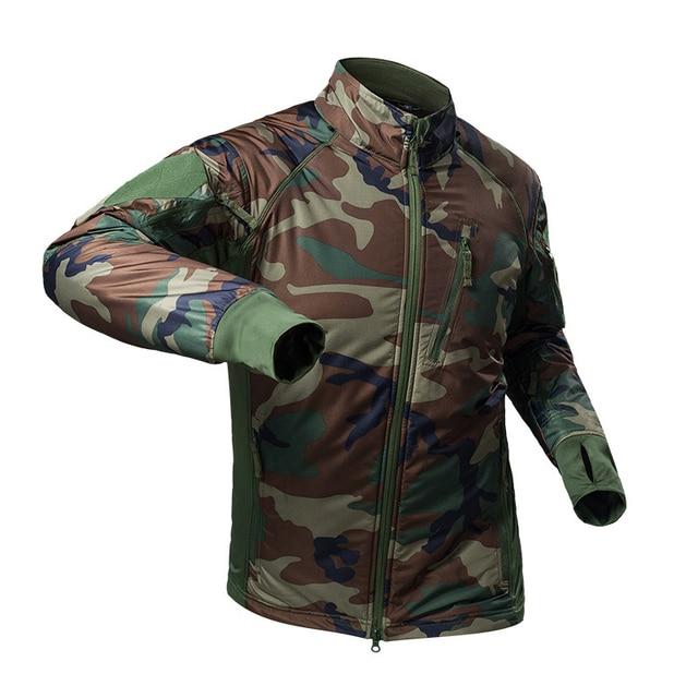 MEGE Men's Waterproof Military Tactical Jacket Men Warm Windbreaker Bomber Jacket Camouflage Hooded Coat US Army chaqueta hombre 3