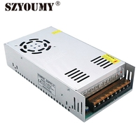 SZYOUMY 24V 20A LED Power Adapter Switching Power Supply LED Driver 480W IP20 Power Converter 2PCS A Lot DHL Free Shipping