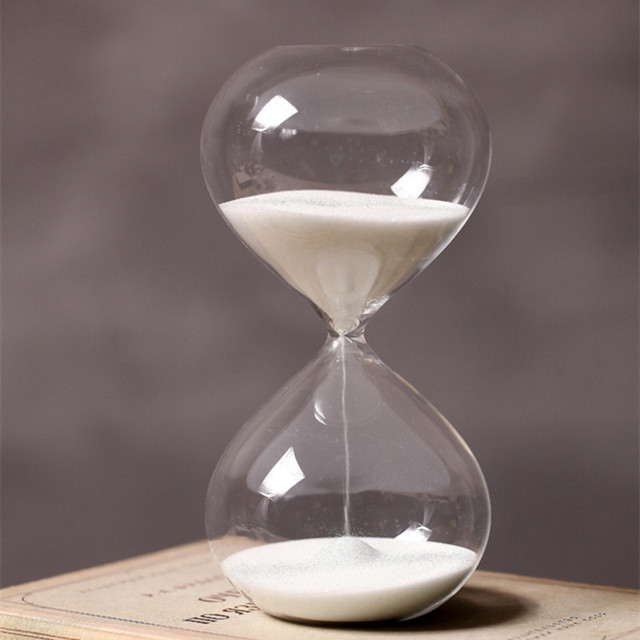 supply glass hourglass timer 30 minutes hourglass timer children
