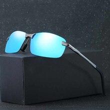 Belaibo ファッションアルミマグネシウム偏光サングラスの男性 UV400 駆動眼鏡 oculos シェード 8573 無料配信