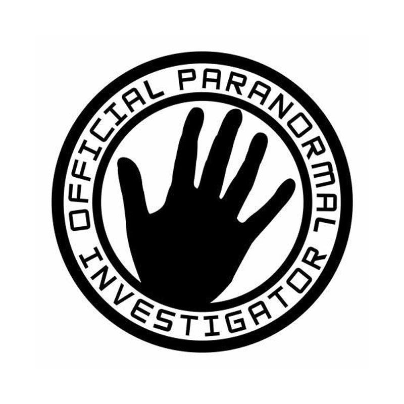 13.5cm*13.5cm Personalized Creative OFFICIAL PARANORMAL INVESTIGATOR Body Vinyl Stickers C5-1405