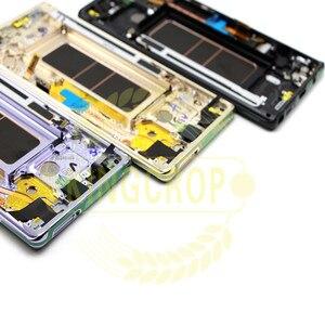Image 4 - Pantalla Lcd táctil para Samsung galaxy Note 8 N950F N950D N950DS N950U, montaje de digitalizador con marco para Samsung Note 8 lcd