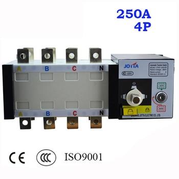 4 Polo 3 Fase 250A interruptor de transferencia automática ATS 220 V/230 V/380 V/440 V