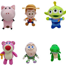 6pcs/set Toy story 4 Plush forky toy woody Buzz Lightyear Potato Head 20cm Stuffed Doll Toys