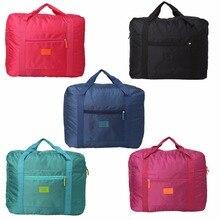 THINKTHENDO Portable Travel Foldable Luggage Bag Clothes Sto