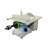New 220v 110v Portable Mini Table Saw Multifunctional Jade Carving Machine Grinding Polishing Machine Woodworking Table
