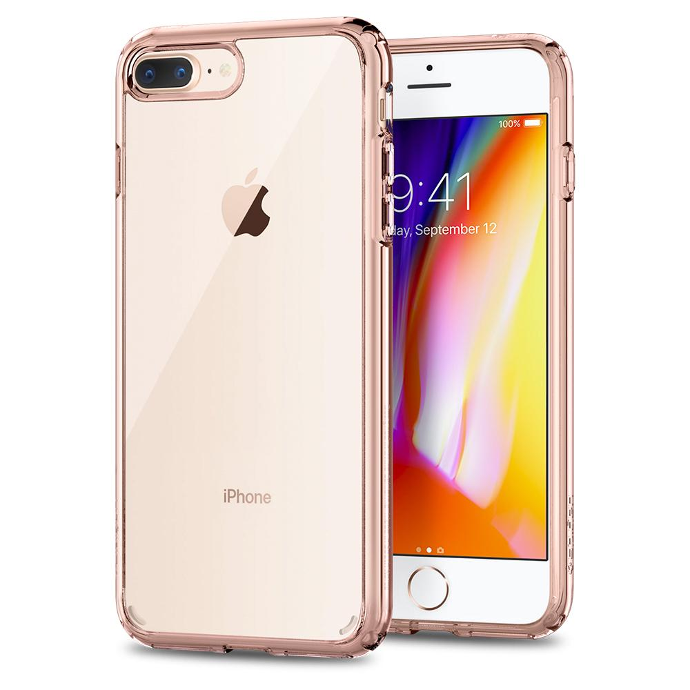 purchase cheap aae9d 250f9 US $19.99 |100% Original SPIGEN Ultra Hybrid [2nd Generation] Cases for  iPhone 8 Plus / iPhone 7 Plus (5.5 inch)-in Fitted Cases from Cellphones &  ...