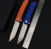 New Arrival CH D2 Blade G10 Handle CH3002 Fold Folding Knife Ball Bearing Camping Outdoor survival bushcraft EDC Tools