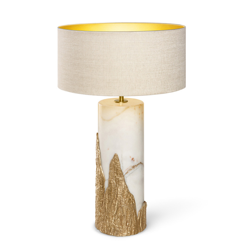 Phube Lighting Modern Marble Table Lamp Villa Bedroom Hotel Decorative Table Lamp Bedside Table Lamp ...