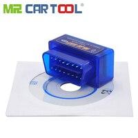 Mr Cartool 30 pcs Bluetooth Auto OBD 2 II ODB Software General MINI Car OBD2 ELM327 EML V1.5 V2.1 CAN BUS Android Torque PC