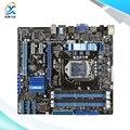 Para asus p7h55-m tomada original usado motherboard desktop para intel h55 LGA 1156 Para i3 i5 i7 DDR3 16G uATX À Venda