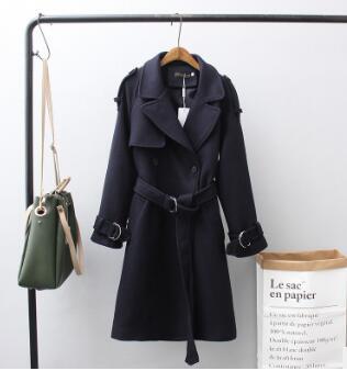 long Manteau 1 Femmes Survêtement Féminin Moyen Hiver Mince Famale 2018 Laine Cocon Mode Automne 3 Printemps Mélange 2 De Hgfs txsQdohrCB