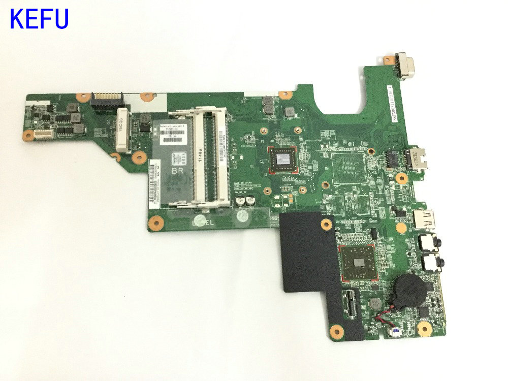 KEFU ORDER NEW Free Shipping 657324-001 For HP COMPAQ PRESAIRO CQ43 CQ57  Laptop Motherboard WITH ONBOARD PROCESSOR