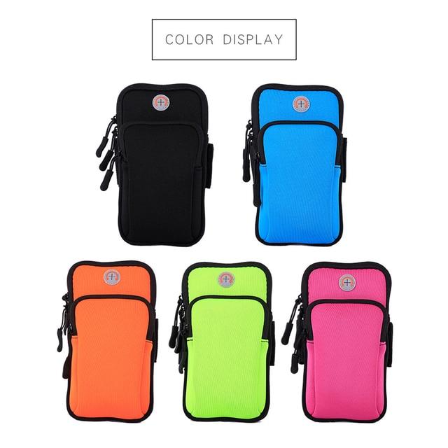 2018 Running Sport Bags Men Women Mobile Phone Arms Package Sport Equipment Jogging Run Bag Accessories Outdoor Climbing Arm Bag 4