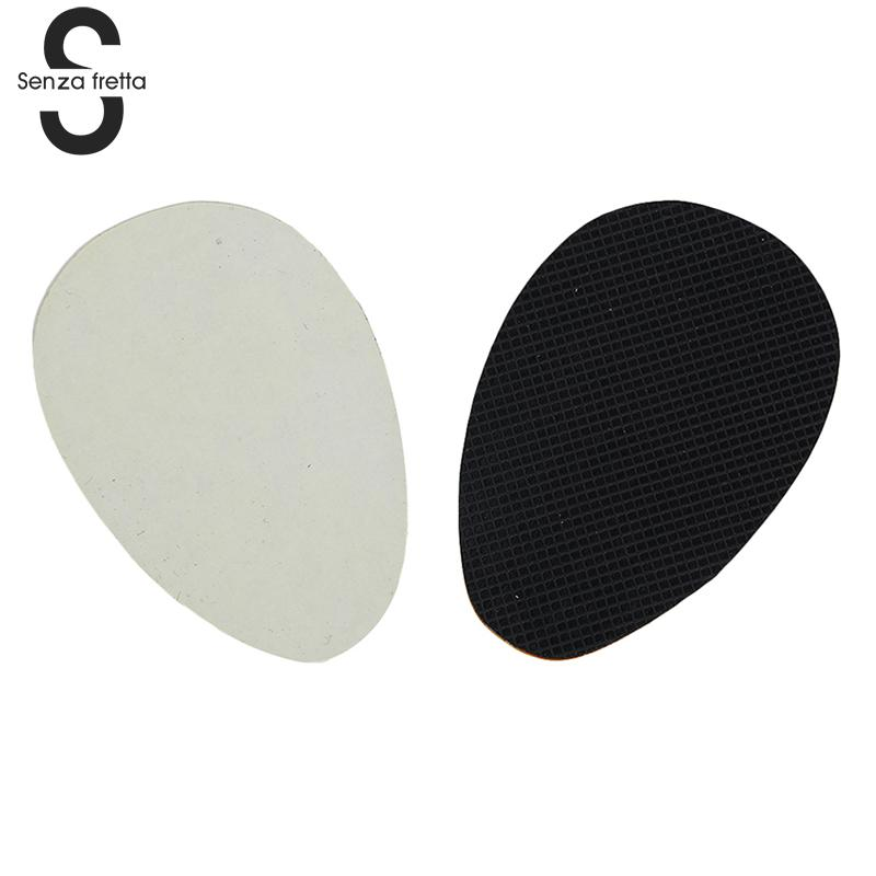 Senza Fretta 2 Pair Strong Durable Non-Slip Rubber High heel Shoes Sole Pads Self-adhesive Anti Slip Pad Insoles LDD0459 efbaba insoles for heels non slip adhesive shoe insole super strong high heel shoes soles rubber shoe pad accessories wholesale
