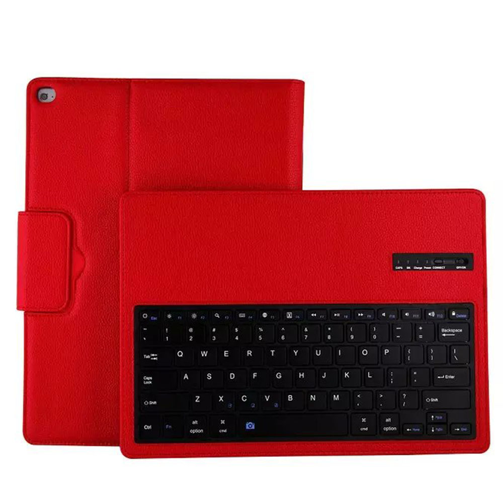 2 in 1 Wireless Bluetooth Keyboard PU Leather Stand Case Cover For Apple iPad Pro 12.9 inch