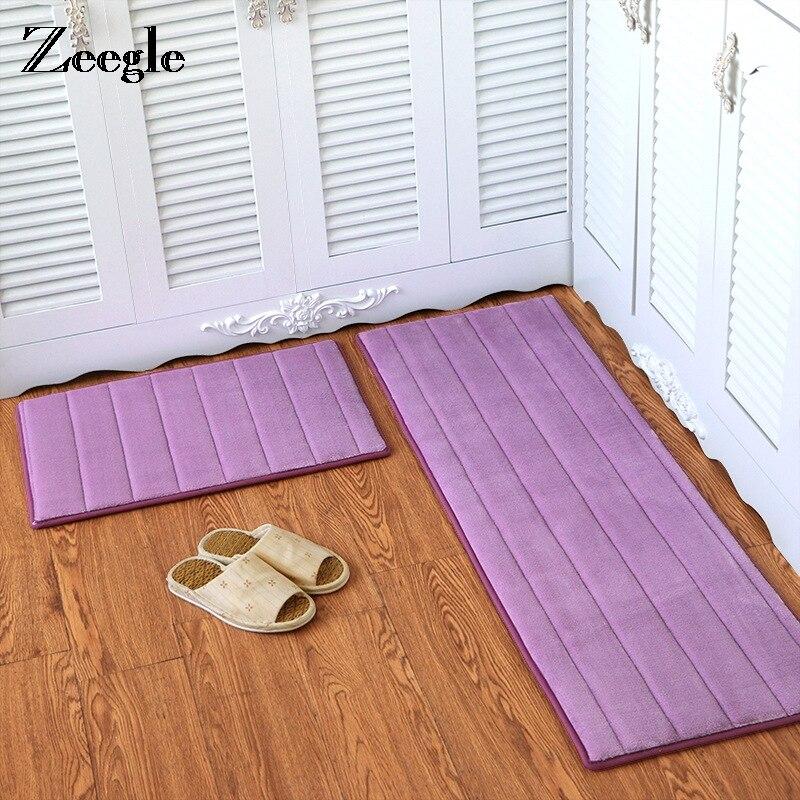 Zeegle Memory Foam Floor Mat Anti Slip