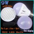 Buy 5 Get 1,Free 6X B22 Bayonet led bulb 220V240V 5W7W9W15W LED SMD2835 Globe Light Bulbs Ball Lamp Spotlight White/Warm white