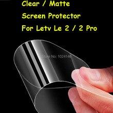 Новые HD Ясно/С Антибликовым Покрытием Матовый Экран Протектор Для Пусть V LeEco Le 2/2 Pro 5.5 Дюймов Защитная Пленка Гвардии С Ткань Для Очистки
