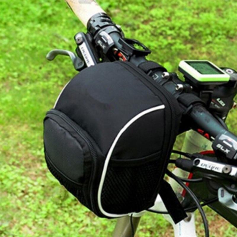 자전거 앞 가방 폴리 에스터 가방 자전거 액세서리 테일 파우치 패키지 야외 자전거 가방 전면 프레임 상단 튜브 가방