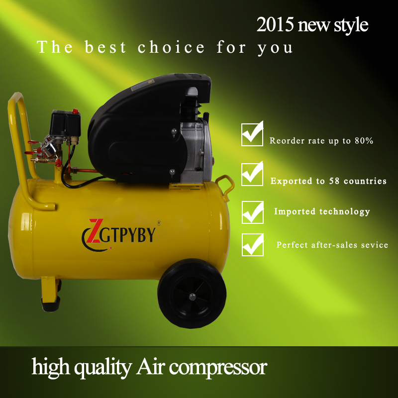2015 hot sale piston air compressor portable air compressor for sale цены