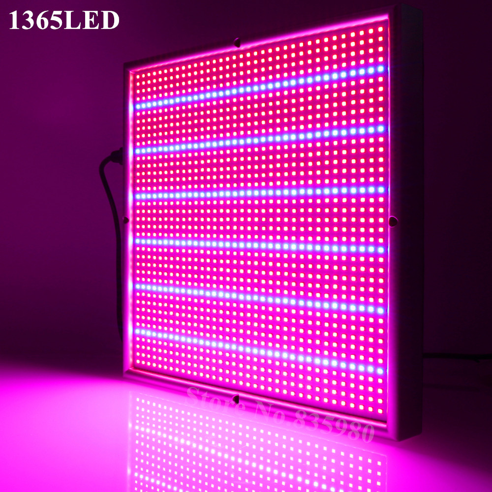 120W LED Grow Light 1365SMD Chip Full Spectrum For Indoor Greenhouse Hydroponic Plant Flower Vegetable Herb High Yield