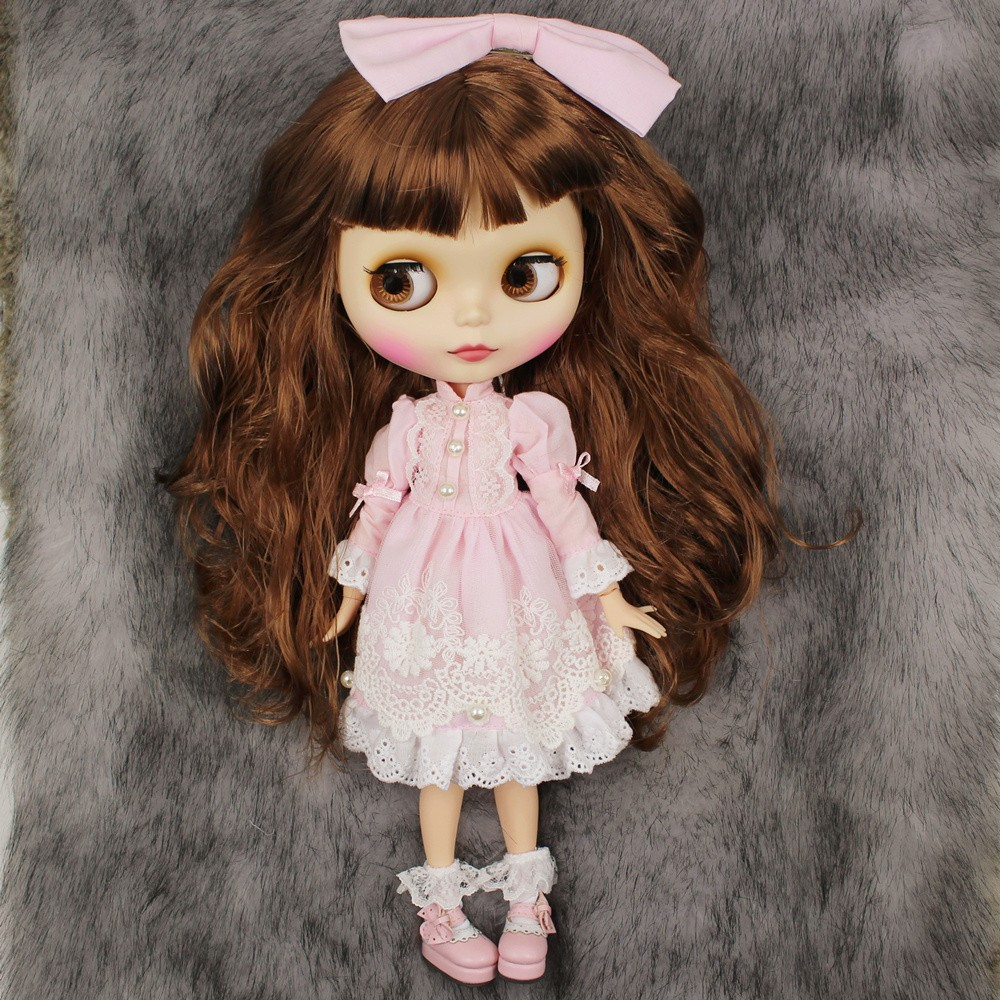 Premium Custom Neo Blythe Doll with Full Outfit 27 Combo Options 1