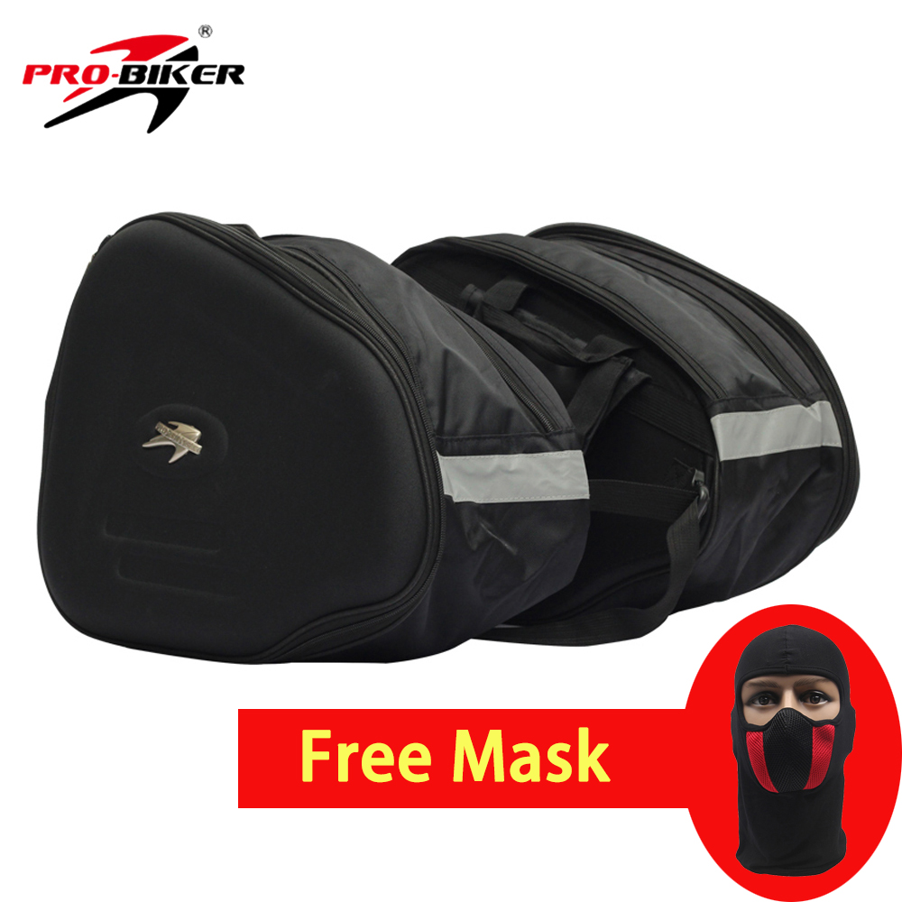 PRO-BIKER Motorcycle Bag Multifunction Riding Saddle Bag Travel Tool Luggage Moto Racing Tail Bags Motorbike Side Bags Saddlebag pro biker motorcycle saddle bag pattern luggage large capacity off road motorbike racing tool tail bags trip travel luggage