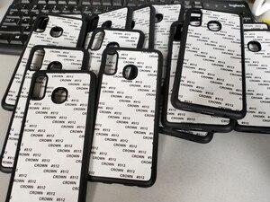 Image 5 - Dành Cho Samsung A10E A20s A30 A40 A51 A50 A70 M20 Cao Su TPU Thăng Hoa In Ốp Lưng Điện Thoại Trống Kim Loại Nhôm Tấm 5 Cái/lô