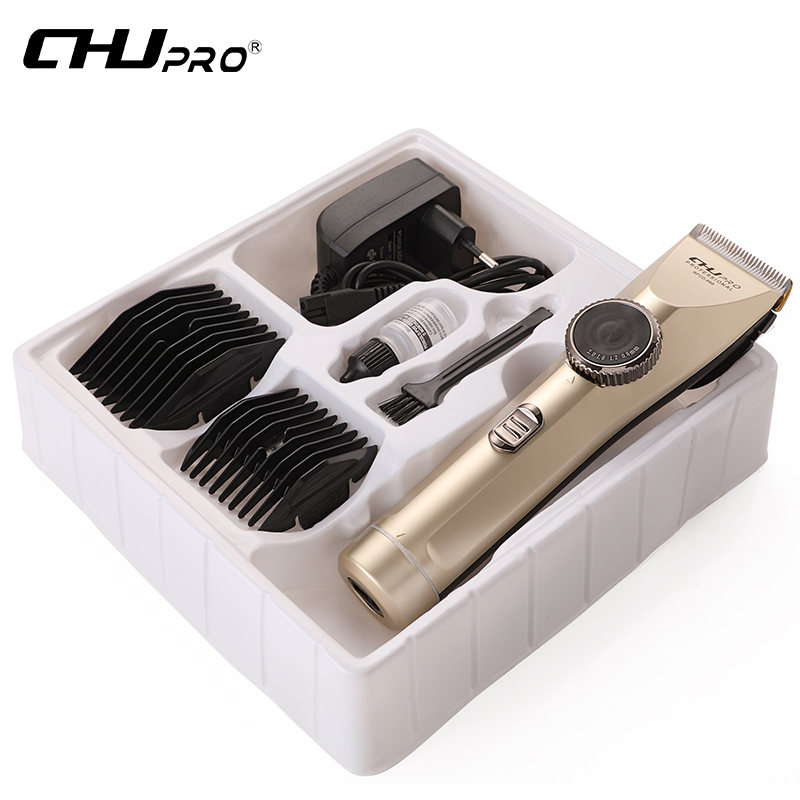Professional Electric Hair Clipper Rechargeable Hair Trimmer Hair Cutting Machine Haircut Beard Trimmer Waterproof kemei 220 240v electric hair cutting rechargeable hair trimmer men beard trimmer shave razor haircut professional clipper kit