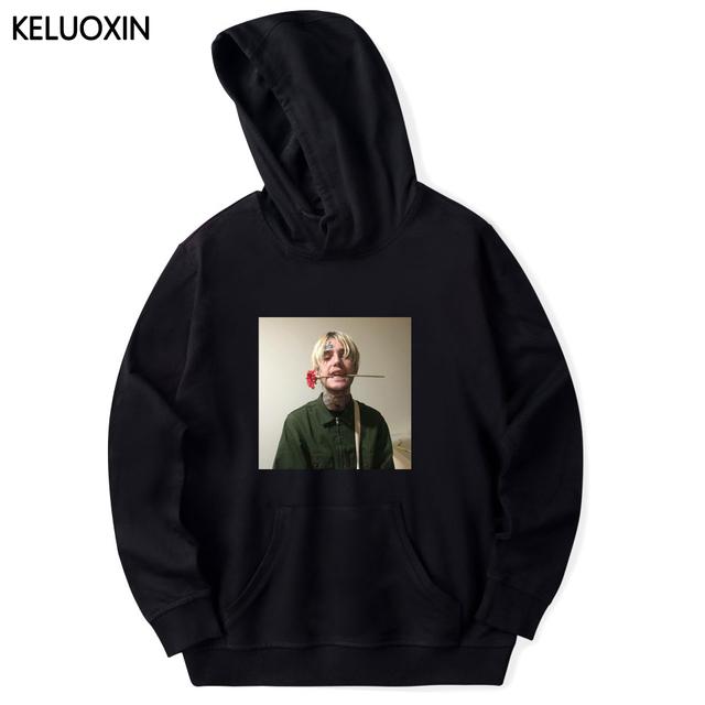 KELUOXIN Lil Peep Sweatshirt Men Women Long Sleeve Pullovers Hip Hop Hoodies Street Style Tracksuit Sudaderas Homme