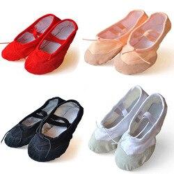 Children soft sole ballet shoe girls ballet shoes 1pack 2 pairs women ballet dance shoes for.jpg 250x250