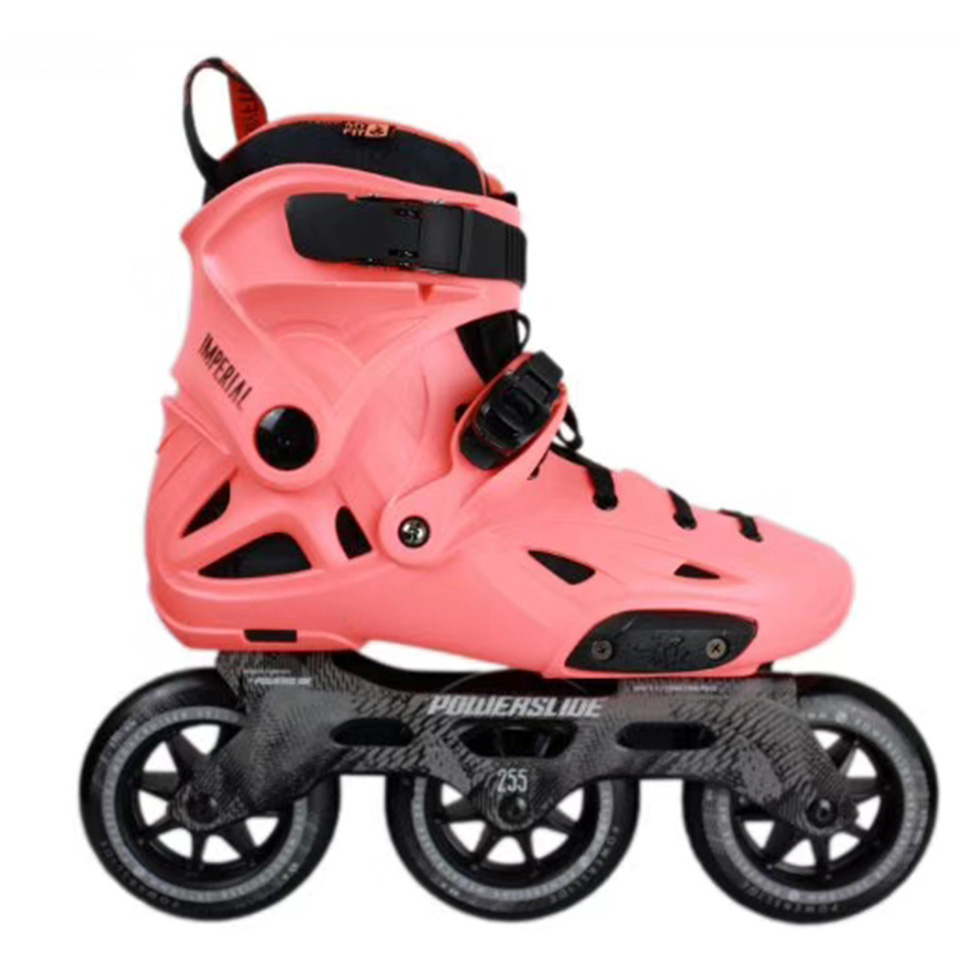 100% D'origine Powerslide Impériale 3*110mm Vitesse roller-skates Rue Rouleaux Adulte chaussures de patinage Patinage Libre Patines Adulto