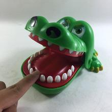 Crocodile Mouth Bite Party Family Finger Game Boy Girl Kids Geek Toy Gift W163