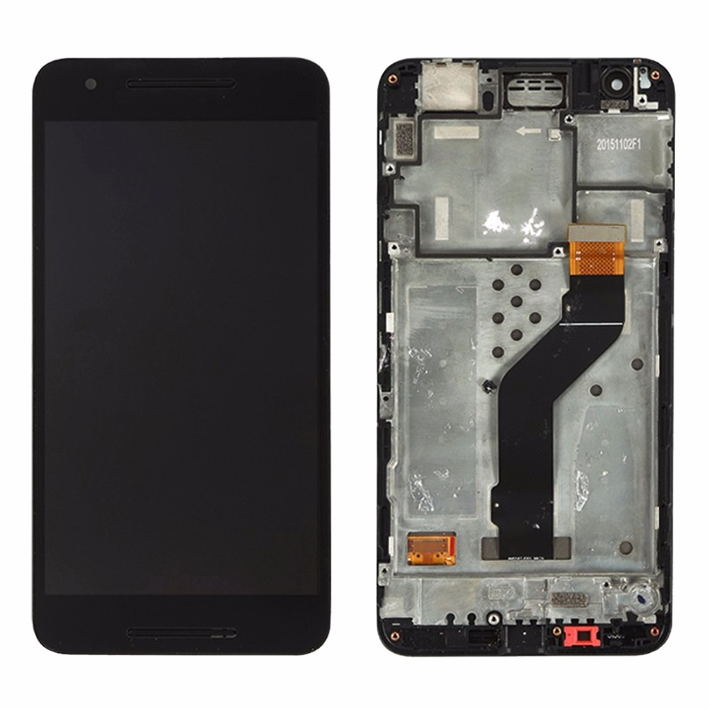LCD Screen and Digitizer Full Assembly with Frame for Google Nexus 6P LCD Screen and Digitizer Full Assembly with Frame for Google Nexus 6P