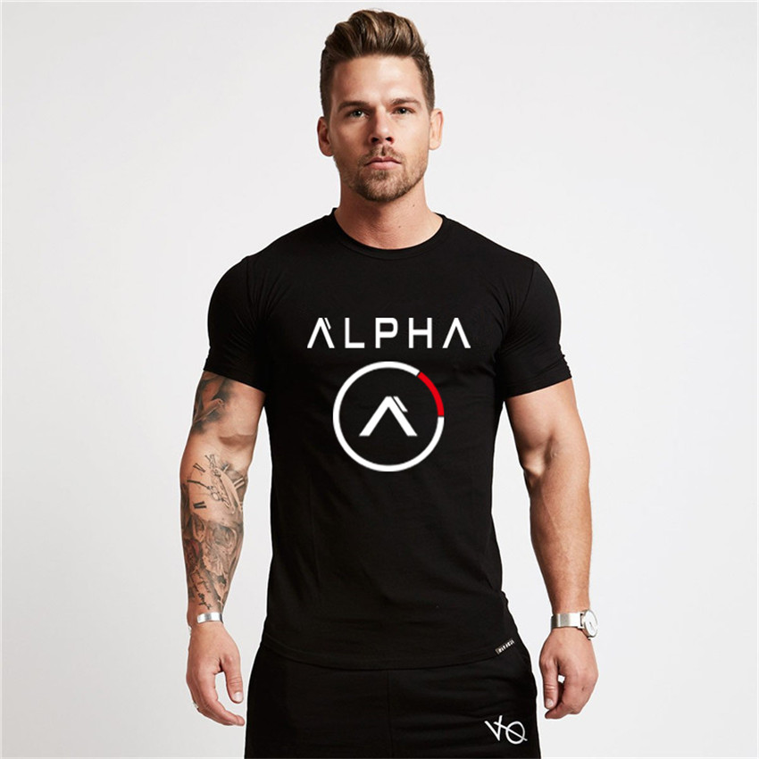 Brand Clothing Fitness   T     Shirt   Men Fashion Extend Long Tshirt Summer Gyms short Mens   T  -  shirt   Cotton Bodybuilding Crossfit Tops