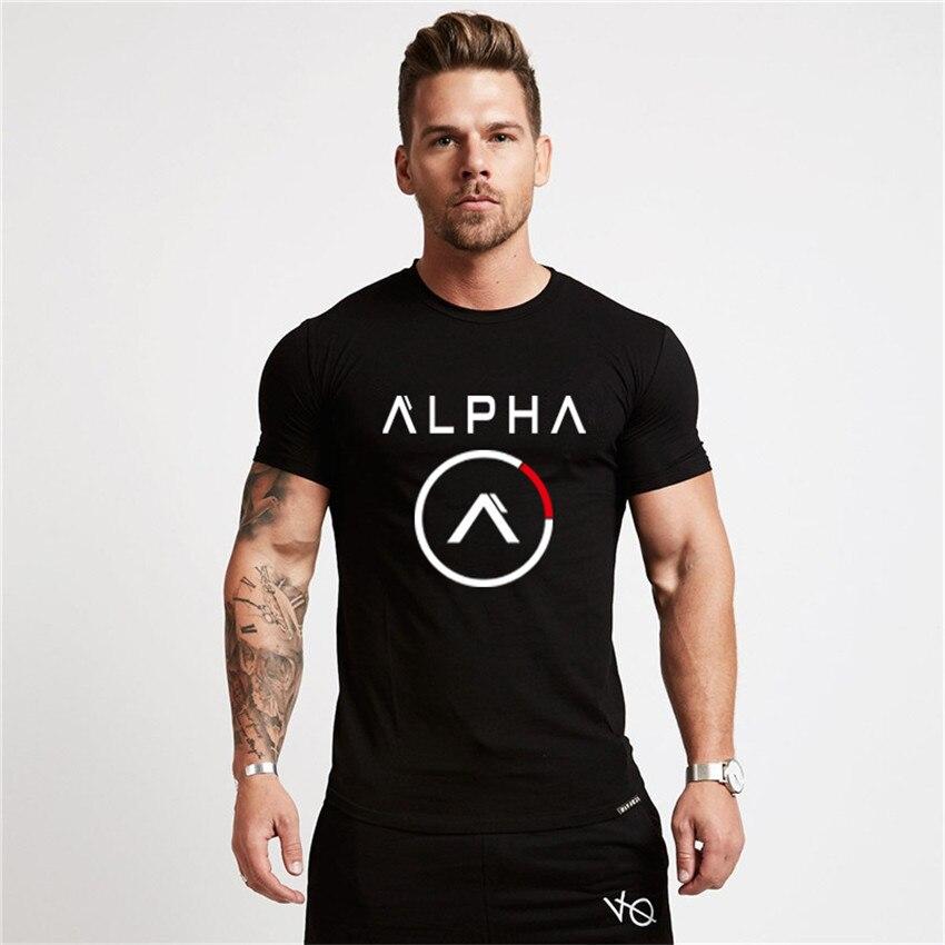 Roupas de marca de fitness t camisa masculina moda estender longo tshirt verão ginásios curtos dos homens camiseta de algodão topos de musculação