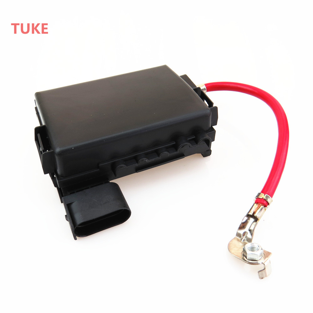 TUKE 1 Set Battery Circuit Fuse Box Assembly + Plug Cable For A3 S3 VW  Beetle Bora Golf MK4 Jetta Seat Leon 1J0937617D 1J0937773-in Fuses from  Automobiles ...