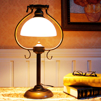 Luxury Iraq the Middle East style table lamp European and American style retro nostalgic bedside bedroom table lamp ZA8836