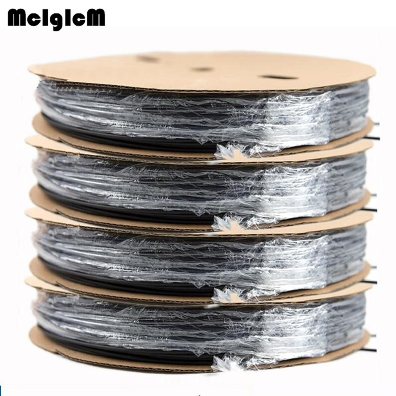 цена на 200 meters heat shrink tube 1MM 1.5MM 2MM 2.5MM 3MM 3.5MM 4MM 4.5MM 5MM heat shrink tubing Shrinkable Wrap Wire Cable Sleeve Kit