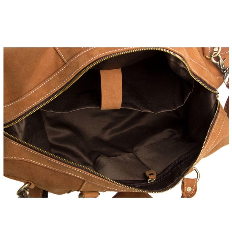 ROCKCOW 2014 Baganta e Re Arritja e Genanta origjinale prej lëkure - Valixhe dhe çanta udhëtimi - Foto 6